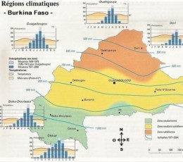 Carte_Burkina-Faso_Regions_climatiques